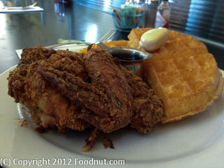 Brown Sugar Kitchen Oakland Chicken and Waffles