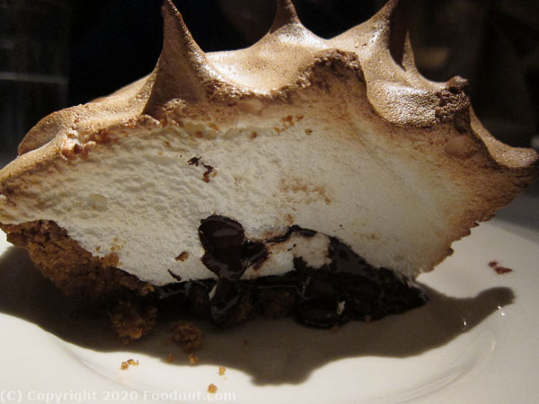 Buckeye Roadhouse Mill Valley smores pie