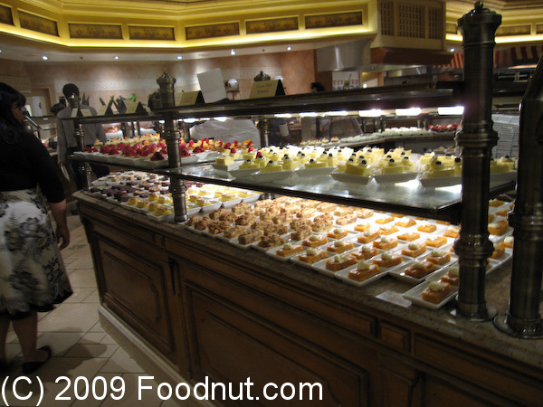 The Buffet at Bellagio is popular for its Gourmet Dinner and Weekend Brunch specials. They also have an Executive Chef's special that has a new dish every other week. Recipes of the World – The Buffet at Bellagio features dishes from multiple countries including Japanese, Chinese, .