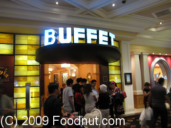 Buffet at Bellagio Las Vegas Exterior