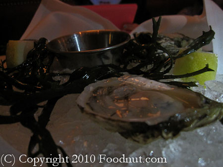Cafe des Amis San Francisco oysters