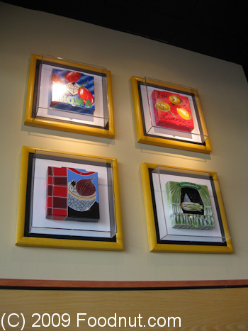 California Pizza Kitchen Interior Decor