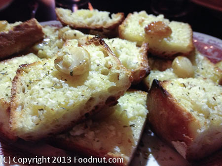 Capos San Francisco garlic bread