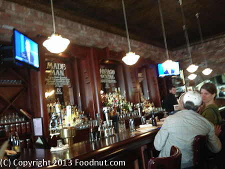 Capos San Francisco interior decor