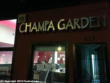 Champa Garden San Francisco Exterior decor