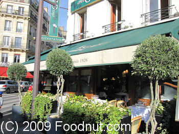 Chez Georges Paris France Exterior Decor