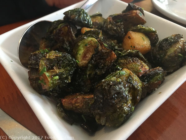 Chez Maman San Francisco brussel sprouts