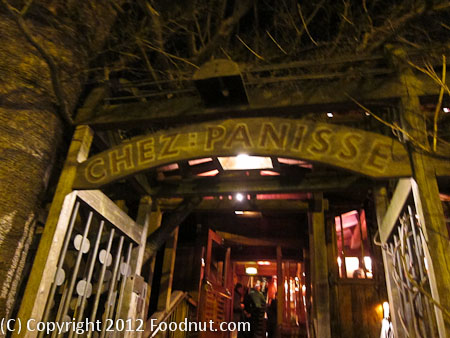 Chez Panisse Berkeley Exterior Decor