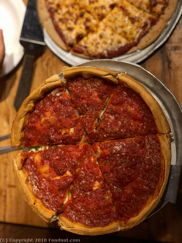 Giordanos Pizza Chicago Deep Dish Pizza