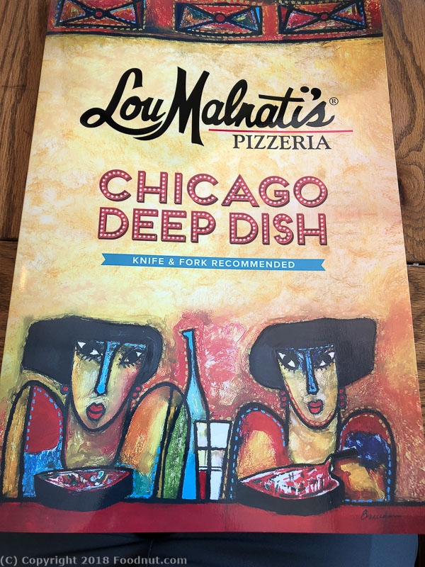 Lou Malnatis Pizza Chicago Classic Deep Dish Menu