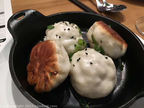 China Live San Francisco pan fried pork buns