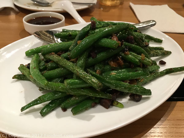 China Live San Francisco string beans