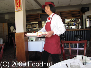 China Village Seafood Restaurant Belmont Dim Sum Server