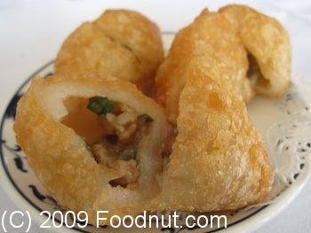 China Village Seafood Restaurant Belmont Fried Pork Dumpling