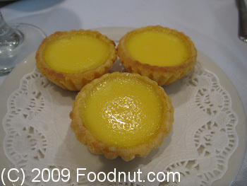 City View Restaurant San Francisco Egg Custard Tart