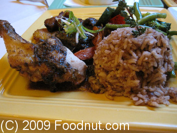 Coconuts Caribbean Restaurant and Bar Jerk Chicken Oxtail