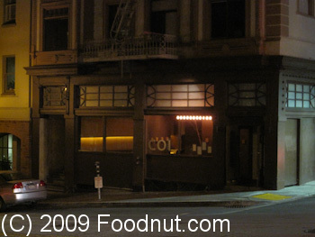 Coi Restaurant San Francisco Exterior Decor