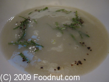 Coi Restaurant San Francisco Sunchoke Buttermilk Soup