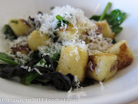 Commonwealth San Francisco potato gnocchi