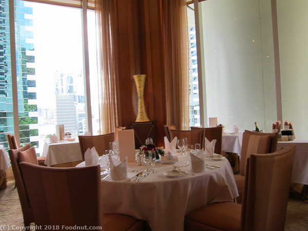 Conrad Nicholinis Sunday Brunch Hong Kong interior decor