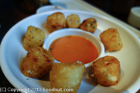 Potato Tots Bravas Recipe — Dishmaps