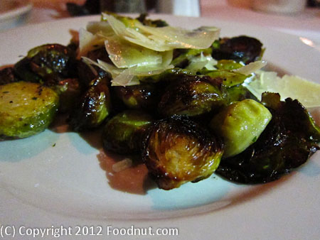 Cottonwood Restaurant Truckee Brussel Sprout