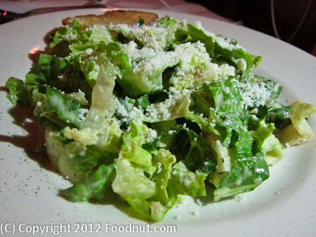 Cottonwood Restaurant Truckee Caesar Salad