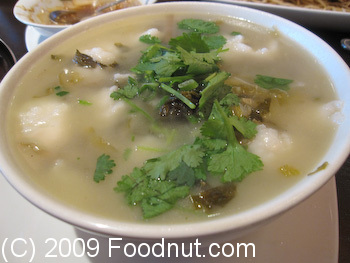 Crouching Tiger Redwood City Sichuan Pickle Fish Soup