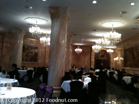 Crown Princess Fine Dining Toronto Interior Decor