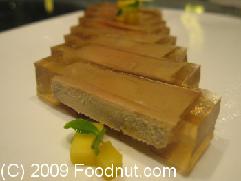 DaDong Roast Duck Restaurant Beijing China Goose Liver Aspic