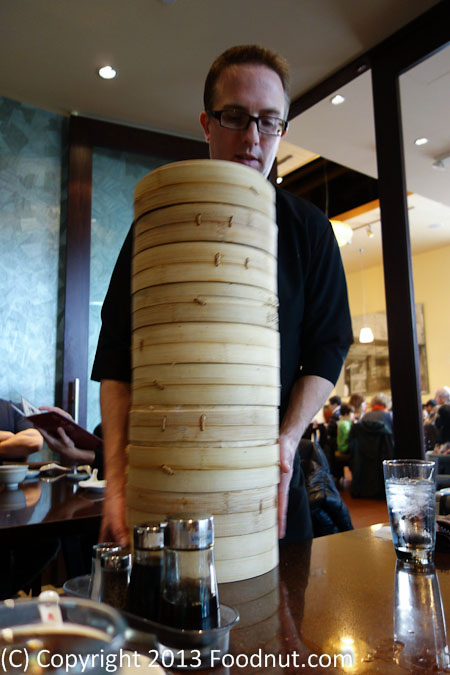 Din Tai Fung Bellevue bamboo steamers