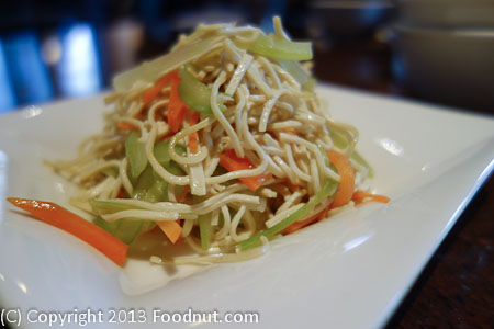 Din Tai Fung Bellevue soy noodle salad