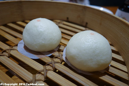 Din Tai Fung Taipei 101 steamed red bean buns