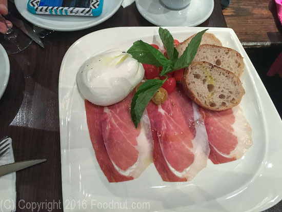 Don Antonio by Starita New York Tartufo Burrata
