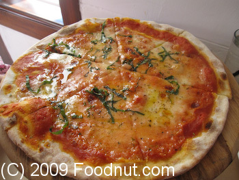 Donato Enoteca Redwood City Margherita Pizza
