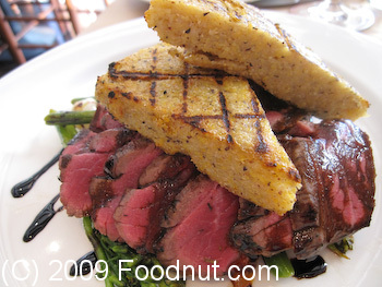 Donato Enoteca Redwood City Tagliata Agnello Lamb Steak