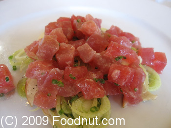 Dopo Oakland Yellowfin Tuna
