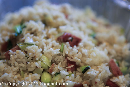Dumpling Kitchen San Francisco clay pot fried rice