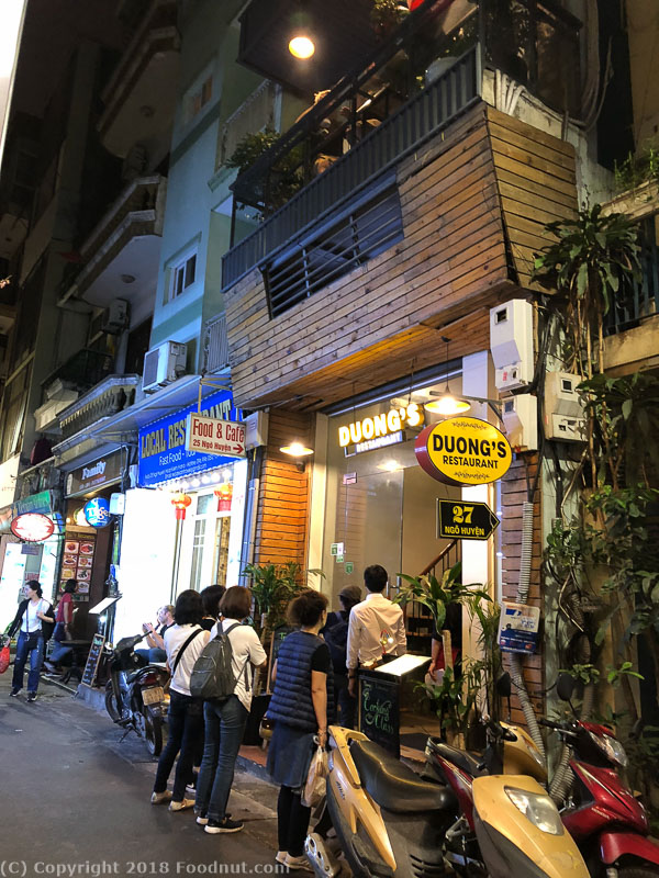 Duongs Restaurant Hanoi Exterior decor