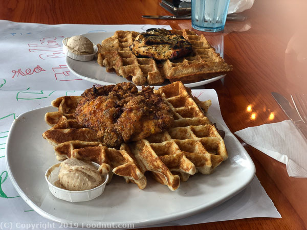 Dames Chicken and Waffles Durham NC
