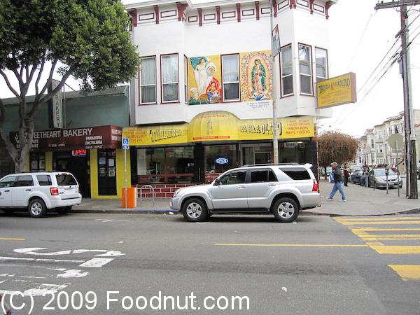 El Farolito Restaurant Review San Francisco 94110