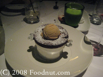 Epic Roasthouse San Francisco Souffle