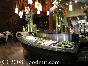 Espetus Churrascaria Interior Salad Bar