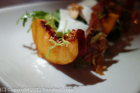 Farmhouse Forestville Dry Creek Peach Salad