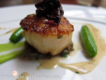 Fifth floor San Francisco diver scallop