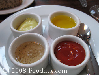 Foreign Cinema San Francisco Dipping Sauces