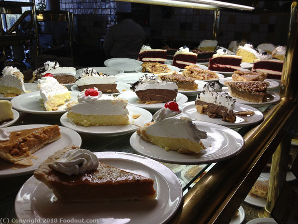 Forest Buffet Harrahs Lake Tahoe Desserts