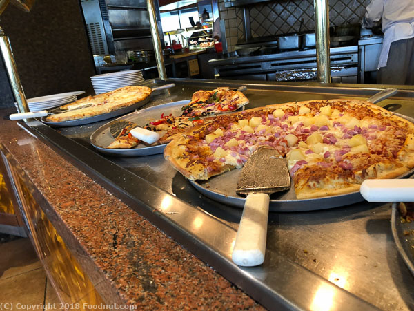 Forest Buffet Harrahs Lake Tahoe Pizzas