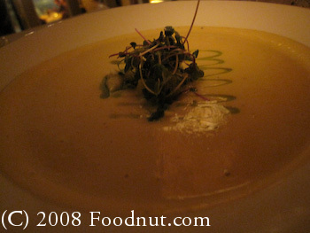 Frascati San Francisco Cauliflower Soup