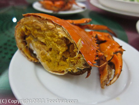 Fu Gow Shenzen China Crab Buttered